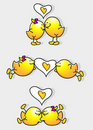 Free Cartoon Birds In Love Stock Photos - 15602663