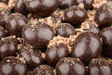 Free Chocolate Balls With Crumbs Royalty Free Stock Image - 15600216