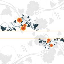 Free Floral Abstract Design Element Royalty Free Stock Image - 15600336