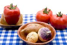 Free Onion And Garlic Stock Photo - 15600360