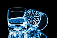 Free Two Glasses Stock Images - 15600634
