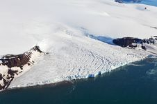 Free Aerial View Of Glaciers Royalty Free Stock Photos - 15603278