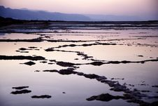 Free Dead Sea At Sunset Stock Image - 15603811