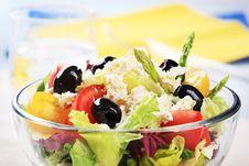 Free Greek Salad Stock Photo - 15604240