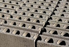 Free Construction Hollow Blocks Stock Photo - 15604270
