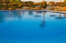 Free African Resort, Swimming Pool. Stock Photography - 15604322