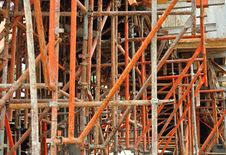 Free Metal Scaffolding Royalty Free Stock Images - 15604409