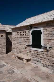 Free Croatian Stone House Stock Photography - 15604612
