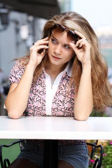 Free Lady Talking On Mobile Phone Stock Photos - 15604983
