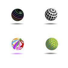 Free Ball Dec Royalty Free Stock Image - 15605146