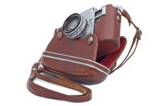 Free Old Camera. Royalty Free Stock Images - 15605859