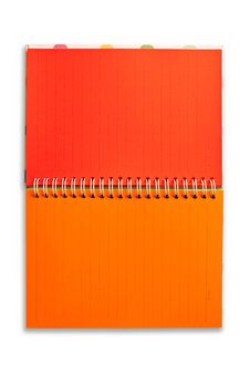 Blank Notebook Isolated Stock Image