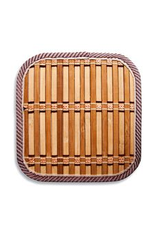 Bamboo Weave Isolated Stock Photos