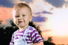 Kid Portrait Royalty Free Stock Images