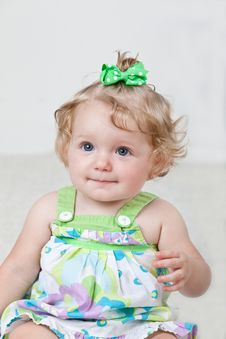 One Year Old Baby Stock Images