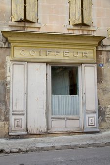 Free Coiffeur Shop Frontage Stock Photography - 15606802