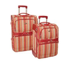 Two Suitcases. Stock Image