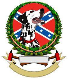 Logo With Dalmatians Stock Photos