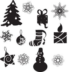 Free Christmas Icon Royalty Free Stock Images - 15608589