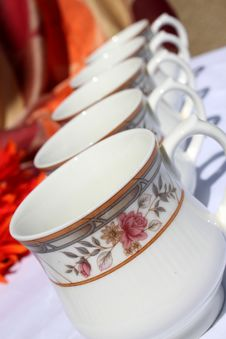 Free Decorative Tea Cups Stock Photos - 15608643