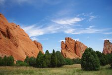 Free Garden Of The Gods Royalty Free Stock Photography - 15609737