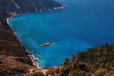 Free View Of Coasts At Kefalonia Island Royalty Free Stock Photos - 15609988