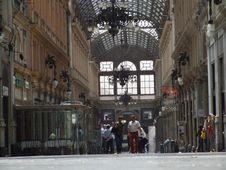Free Genova-Galleria-Liguria-Italy - Creative Commons By Gnuckx Royalty Free Stock Photos - 156047218