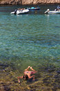 Free Swimming In Assos Stock Photography - 15610272