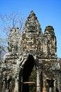 Free North Gate,Angkor,Cambodia Royalty Free Stock Photos - 15612328