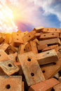 Free Brick  Red  Clay  Sun Stock Images - 15613684