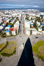 Free Aerial View From Hallgrimskirkja Church - Iceland. Stock Photography - 15615062