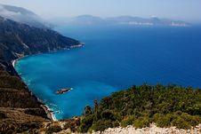 Free View Of Coasts At Kefalonia Island Stock Photos - 15610063