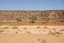 Free River In Libya Royalty Free Stock Photo - 15610105