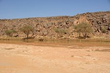 River In Libya Stock Photo