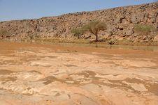 Wadi In Libya Stock Image