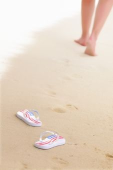 Free Stroll On The Beach Stock Photography - 15610312