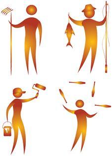 Free Illustrative Icon Stock Photos - 15610823