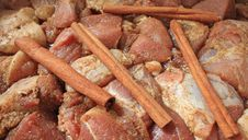 Free Meat And Cinnamon Royalty Free Stock Photography - 15611127