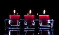 Free Red Candles Stock Images - 15613014