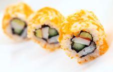 Free Japanese Sushi Stock Photo - 15613020