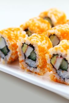 Free Japanese Sushi Royalty Free Stock Photography - 15613027