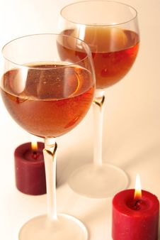 Free Rose Wine Royalty Free Stock Images - 15613749