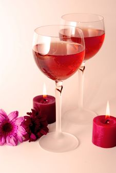 Free Rose Wine Stock Images - 15613754