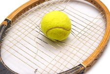 Free Old Racket Stock Photography - 15614202