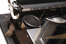 Free Vintage Typewriter Royalty Free Stock Photo - 15614285