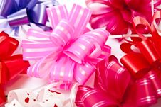 Bows Background Royalty Free Stock Images