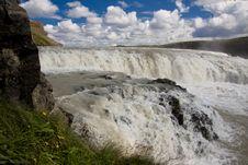 Free Part Of Gullfoss Waterfall - Iceland Royalty Free Stock Image - 15614936