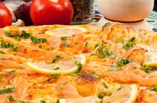 Free Pizza Salmone Stock Photos - 15615563
