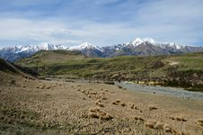 Free Plains And Peaks Of Arthur S Pass National Park Royalty Free Stock Photo - 15615605