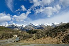 Free Plains And Peaks Of Arthur S Pass National Park Royalty Free Stock Photos - 15615628